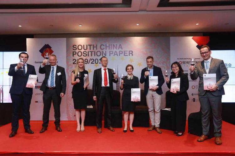 European Chamber Released South China Position Paper 2019/2020
